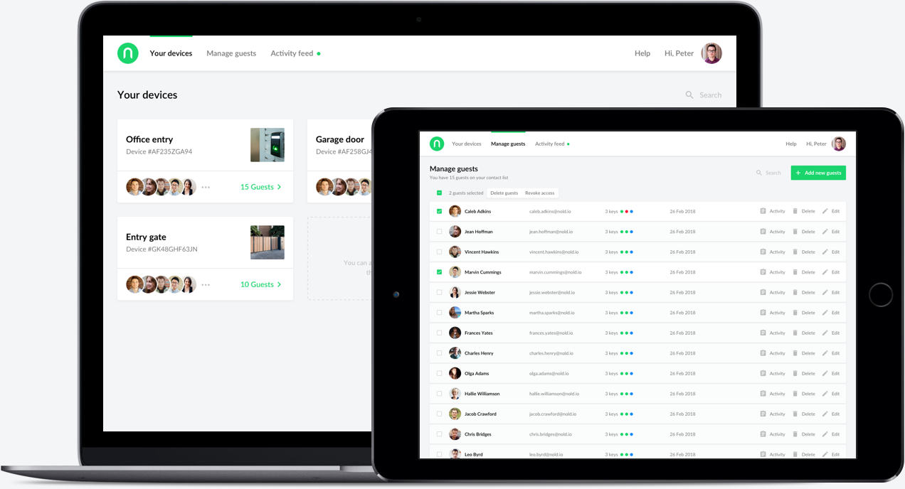 Nold Cloud Manage Your Keys And Guests In The Cloud Nold